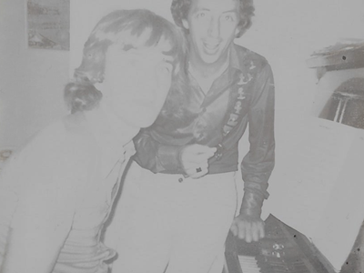 1975 Photo of Phil Mahoney and Peter Walker