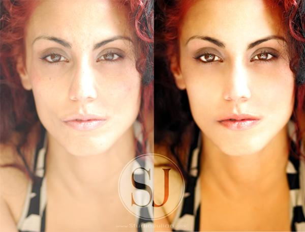 Before and After - Model: Jonita G.