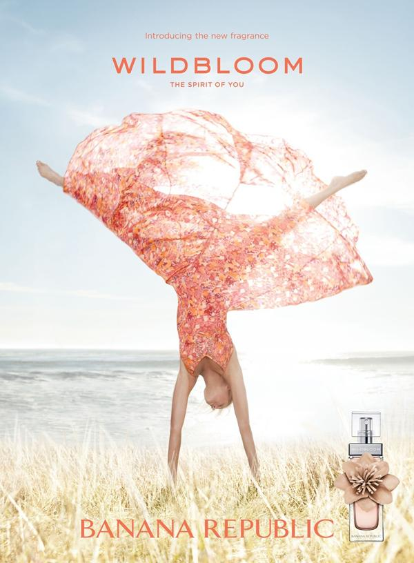 Banana Republic Wildbloom Fragrance Campaign