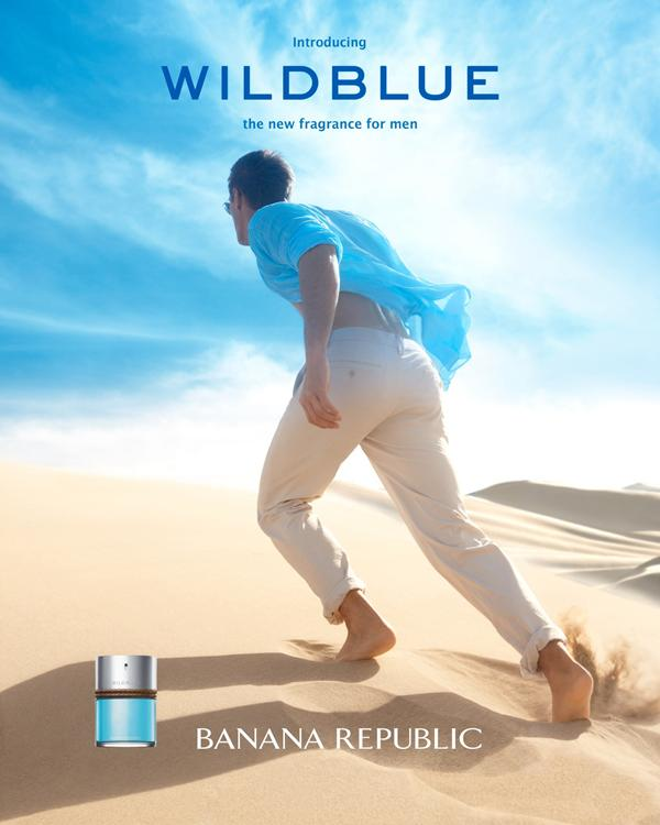 Banana Republic Wildblue Fragrance Campaign