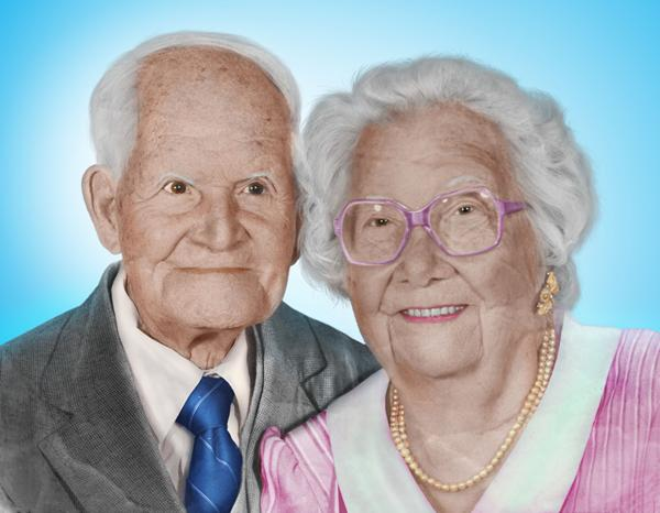 old couple restored