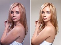Glamour retouch_before_after