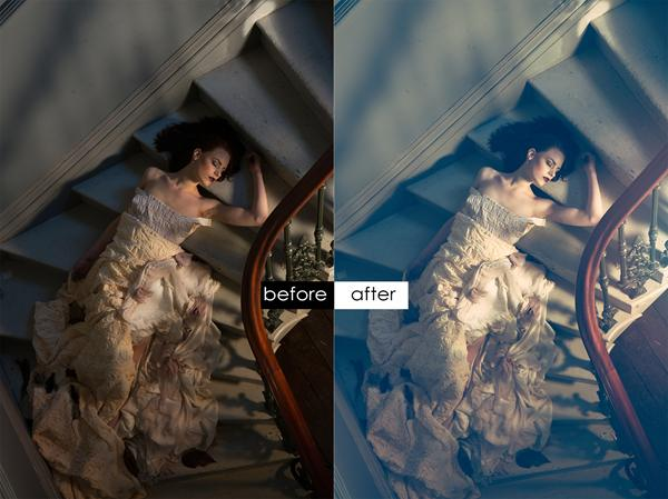 Retouching [Before and After]