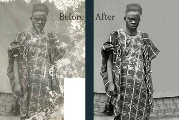 Restoration In Black & White