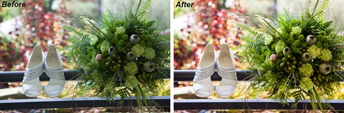 Wedding Color Correction