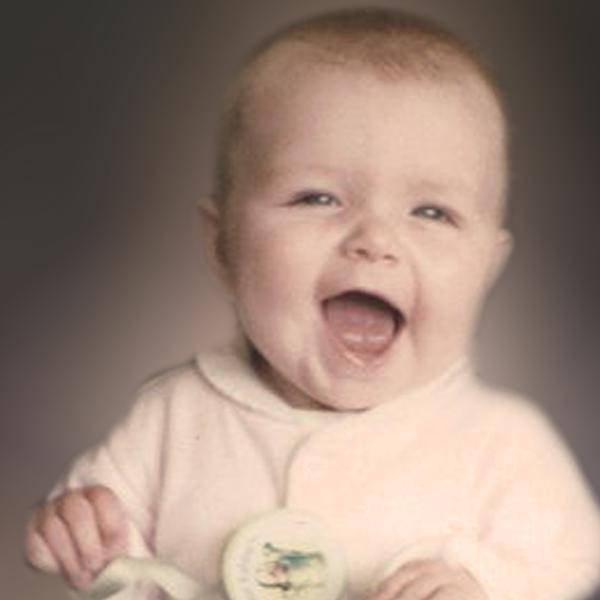 Photo Redesign Smiling Baby