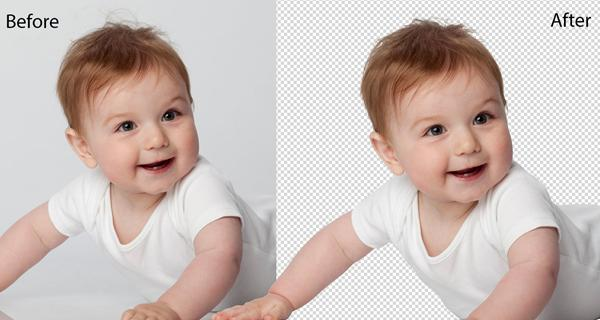 Masking with Transparent Background