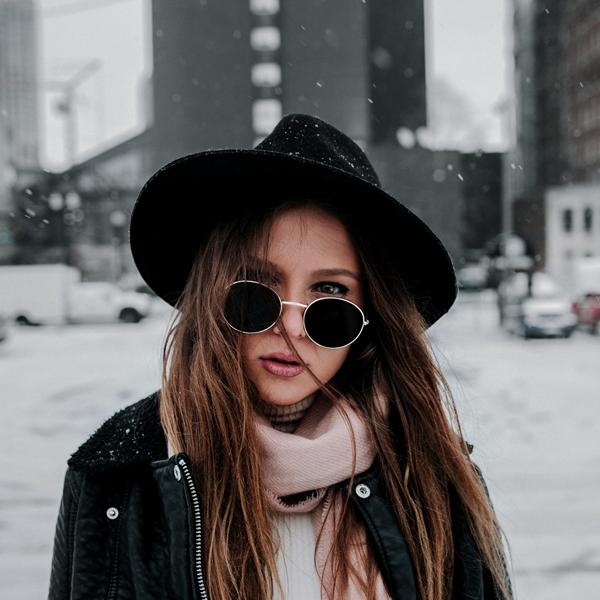 Girl in shades