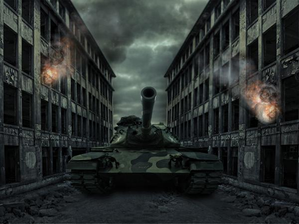 Big Tank Photo Manipulation