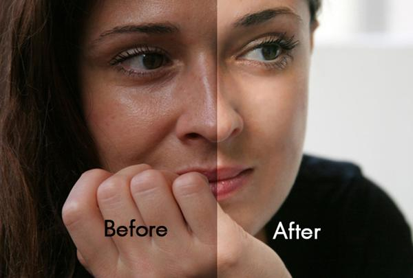 Natural Photoshop retouch